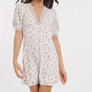 Fashion Union - Floral & Lace Dress